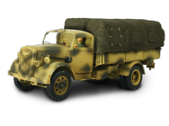 German 3-Ton Cargo Truck with Driver 1:32 - 80061