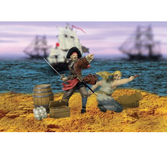 Pirates pillagers 1/32 22001 - 22001