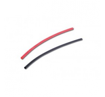 Tube thermo noir/rouge 1.5mm - 160015