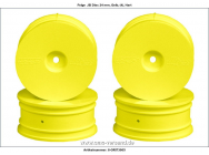 DISH WHEELS YELLOW - ORI73005