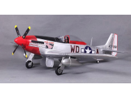 P51 Ridge runner (V8) 1400mm PNP kit Famous FMS - FMS008-V8BI