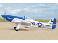 P-51 MUSTANG EP ARF BLACK HORSE - BH125