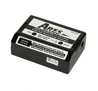 3-Cell/11.1V 0.5A Bal.Charger (Gamma Pro) - AZSC305C  - AZSC305C