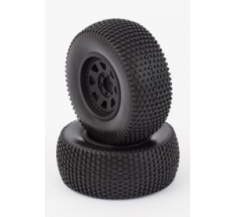 Tyres And Wheels (Mounted) Black (2) - HLNA0414 - HLNA0414