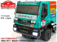 Iveco Trakker Evo2 Dakar 2012 1/10e RTR Kit Rally legends - RALEZRL012