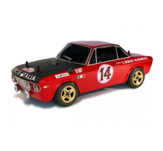 Lancia Fulvia 1600HF Monte Carlo 1972 1/10e RTR Kit Rally Legends - RALEZRL072