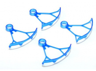 Light Weight Bumper for Micro Quadcopters (for 8.5mm motor-Blue) - XWL03-B