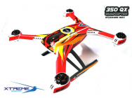 Pre-Cut Body Sticker Set (Red) -Blade 350QX - 350QX04-R