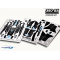 Pre-Cut Body Sticker Set (Black) -Blade 350QX - 350QX04-K