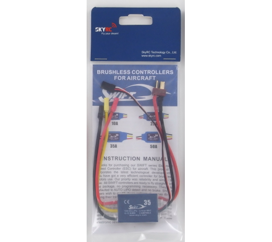SkyRC Swift Air Brushless ESC 35Amp  -  	SkyRC Swift Air Brushless ES