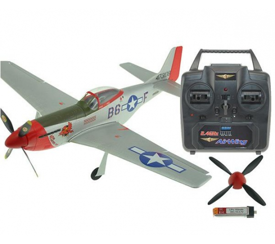 Micro Mustang Indoor ParkFlyer 400mm RTF 2.4Ghz Air Wing - AW-MUSTG