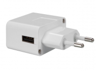 Chargeur COmpact USB 5V - 1A - Blanc - PSSEUSB21W