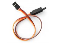 Rallonge servo JR avec securite 300mm 26AWG (0.32mm²) (10pcs)  - BEEC5030HJ