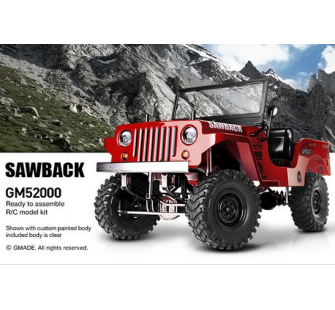 GMADE 1/10 GS01 SAWBACK 4WD SCALE CRAWLER KIT - GM52000