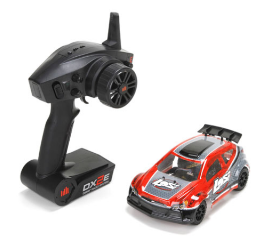 Team Losi Voiture electrique Micro Rally X 1/24 RTR Rouge - LOS00002iT1