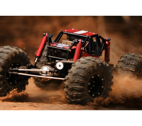 R1 Rock Buggy 4WD Crawler ARTR Rouge 1/10e ROUGE - GM51001