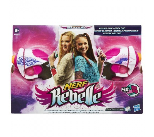 NERF REBELLE PACK DUO 2 PISTOLETS