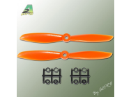 Helice Gemfan Slow Fly propulsive orange – 6 x 4.5 CW (2 pcs) - A2P-GO7060045
