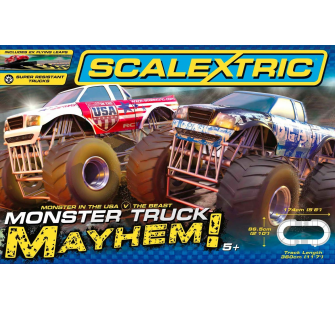 Monster Truck Mayhem - Scalextric