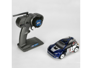 Team Losi Voiture Micro Rally Car Bleue 1/24 4WD Brushless avec radio 2.4Ghz - LOSB0243iT1