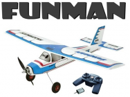 Avion FunMan RTF Multiplex mode 2 et 4 - 13267