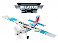 Avion Pilatus PC6 RR Bleu Turbo Porter Multiplex - 264290