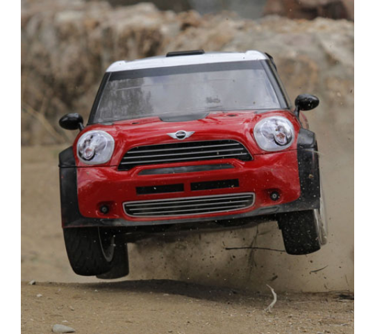 Mini WRC RTR AVC: 1/5 4WD Rally Car - LOS05007