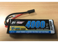 RC Plus - Python Plus Car 35C 4000mAh 3S 11.1V Softcase Car Li-Po, TRX Conn - RC-T-312
