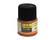 Peinture Acrylique ORANGE TRANSPARENT 9322 Heller  - 9322