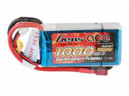Gens Ace 1000mAh 11.1V 25C 3S1P Lipo Battery Pack - B-25C-1000-3S1P