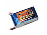 Gens Ace 800mAh 11.1V 40C 3S1P Lipo Battery Pack - B-40C-800-3S1P