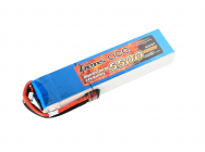 Gens Ace 5500mAh 14.8V 25C 4S1P Lipo Battery Pack - B-25C-5500-4S1P