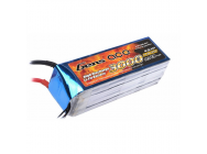 Gens Ace 3000mAh 14.8V 35C 4S1P Lipo Battery Pack - B-35C-3000-4S1P