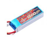Gens Ace 1600mAh 14.8V 40C 4S1P Lipo Battery Pack - B-40C-1600-4S1P
