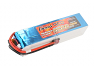 Gens Ace 5500mAh 22.2V 25C 6S1P Lipo Battery Pack - B-25C-5500-6S1P