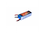 Gens Ace 1250mAh 22.2V 45C 6S1P Lipo Battery Pack - B-45C-1250-6S1P