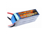 Gens Ace 2600mAh 22.2V 45C 6S1P Lipo Battery Pack - B-45C-2600-6S1P