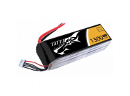Tattu 1300mAh 14.8V 45C 4S1P Lipo Battery Pack - TA-45C-1300-4S1P