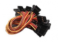 Cable 10cm Male - Male (JR) 26AWG (10pcs/set) - 258000011