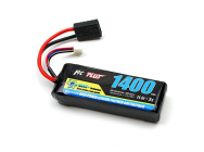RC plus -Python plus Car 35C 1400Mah 3S 11.1V Softcase Car Lipo, TRX Conn.  - RC-T-310