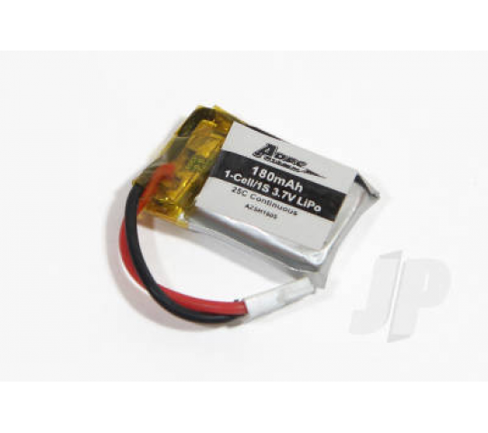 180mAh 1-Cell/1S 3.7v 25C Lipo Battery (Spidex) by Ares - AZSQ1705