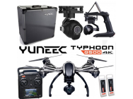 Yuneec Q500-4K Black edition incl CG03(4K) + 2 batteries + ST10 + Steadygrip + Case Alu - YUNQ4KPEU