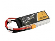 TATTU 1400mAh 11.1V 45C 3S1P Lipo Battery Pack - TA-45C-1400-3S1P