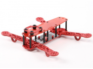 Color250 MiniQuadCopter Frame ROUGE - C1-010201-6