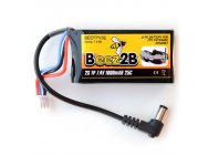 2S 7.4V 1000mAh Lipo battery for FPV Fatshark headset - BEEFPV02