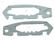 Kylin 250 frame side plate 1 pair - KF-250-15 - KDS - KF-250-15