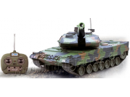Char LEOPARD 2A5  1/16eme RTR Camouflage vert - HE0807-COPY-1