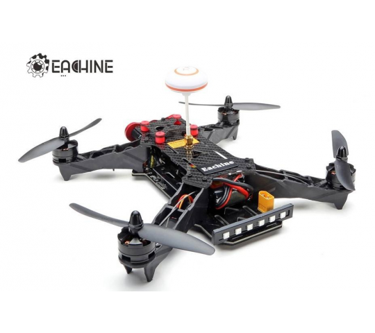 Eachine Racer 250 FPV Drone Built in 5.8G Transmitter OSD With HD Camera ARF Version - 254432
