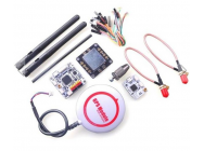 OpenPilot CC3D Revolution Flight Controller + Oplink + M8N GPS + Distribution Board - 290964