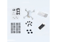 Crash Kit H107C+ Hubsan - H107C+-06